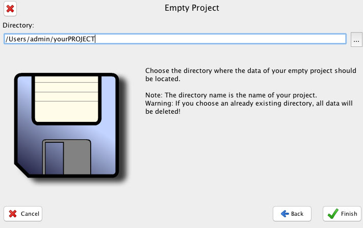 empty project